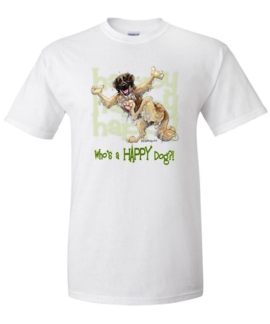 Leonberger - Who's A Happy Dog - T-Shirt