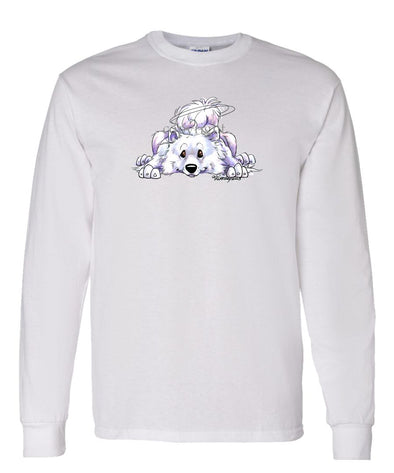 Samoyed - Rug Dog - Long Sleeve T-Shirt