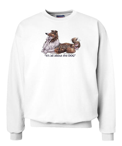 Collie - All About The Dog - Sweatshirt