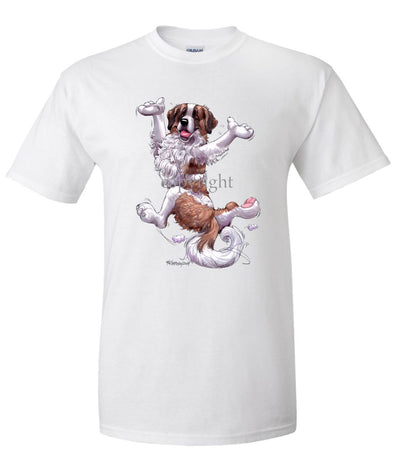 Saint Bernard - Happy Dog - T-Shirt