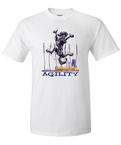 Flat Coated Retriever - Agility Weave II - T-Shirt