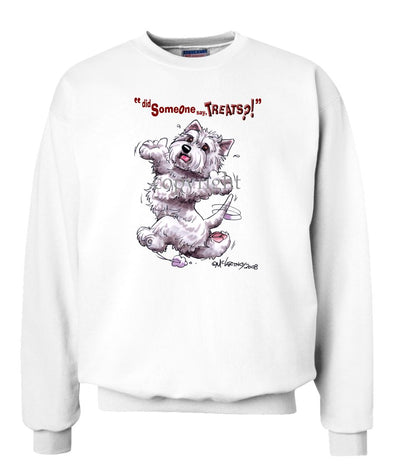 West Highland Terrier - Treats - Sweatshirt