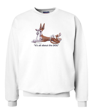 Ibizan Hound - All About The Dog - Sweatshirt
