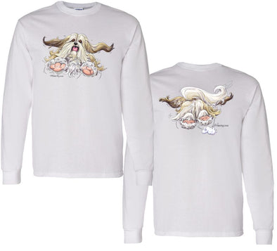 Lhasa Apso - Coming and Going - Long Sleeve T-Shirt (Double Sided)