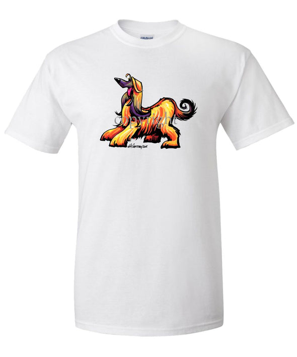 Afghan Hound - Cool Dog - T-Shirt