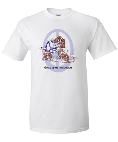 Cavalier King Charles - Peace Dogs - T-Shirt