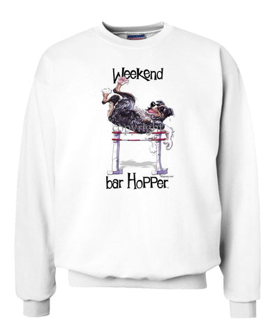 Australian Shepherd  Black Tri - Weekend Barhopper - Sweatshirt