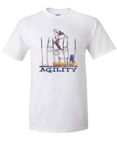 Italian Greyhound - Agility Weave II - T-Shirt