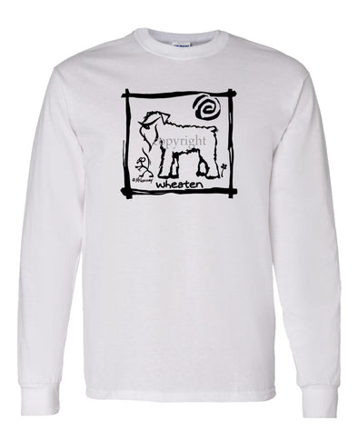 Soft Coated Wheaten - Cavern Canine - Long Sleeve T-Shirt