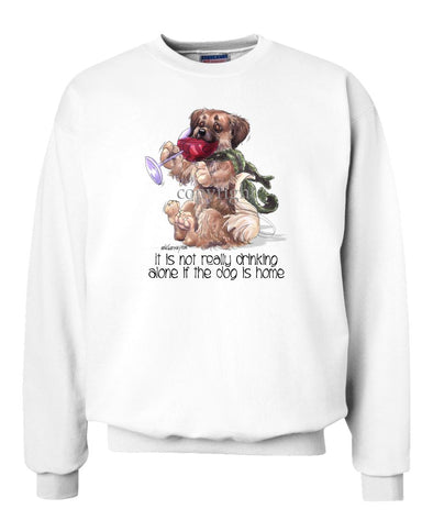 Tibetan Spaniel - It's Not Drinking Alone - Sweatshirt