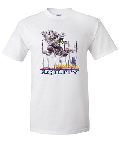 Bearded Collie - Agility Weave II - T-Shirt