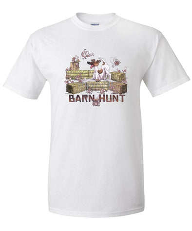 Smooth Fox Terrier - Barnhunt - T-Shirt