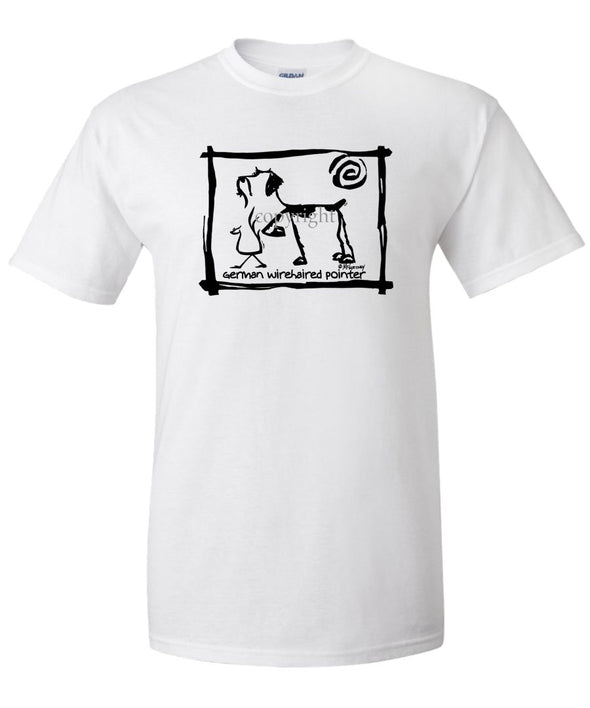 German Wirehaired Pointer - Cavern Canine - T-Shirt