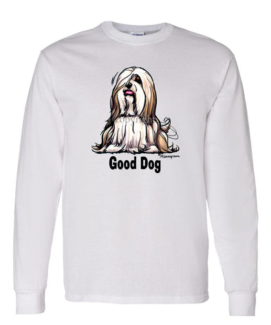 Lhasa Apso - Good Dog - Long Sleeve T-Shirt