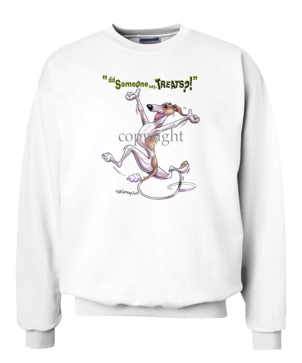Whippet - Treats - Sweatshirt