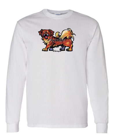 Tibetan Spaniel - Cool Dog - Long Sleeve T-Shirt