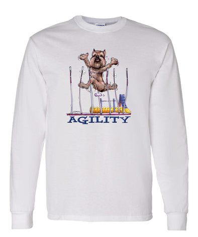 Brussels Griffon - Agility Weave II - Long Sleeve T-Shirt