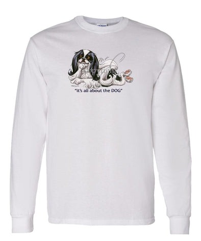 Japanese Chin - All About The Dog - Long Sleeve T-Shirt