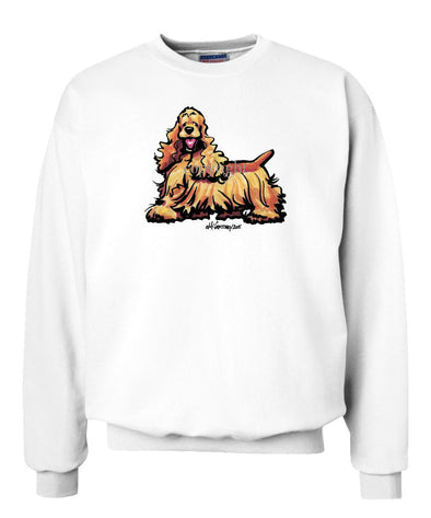 Cocker Spaniel - Cool Dog - Sweatshirt