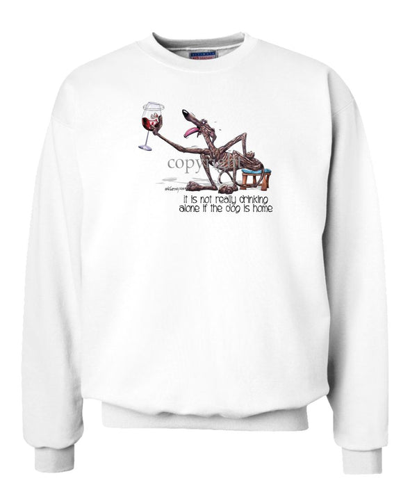 Greyhound - It's Not Drinking Alone - Sweatshirt