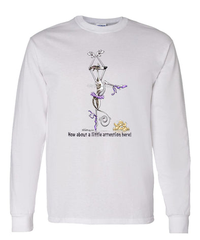 Whippet - Little Attention - Mike's Faves - Long Sleeve T-Shirt