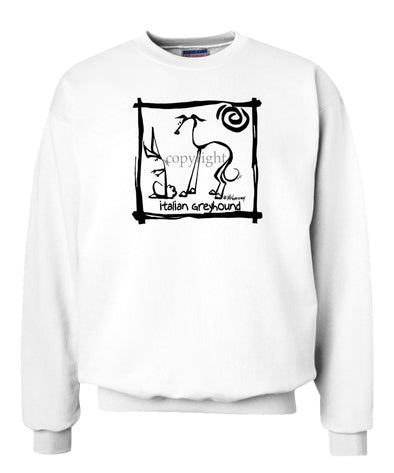 Italian Greyhound - Cavern Canine - Sweatshirt