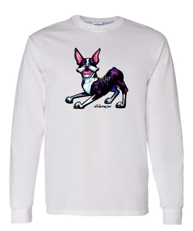 Boston Terrier - Cool Dog - Long Sleeve T-Shirt