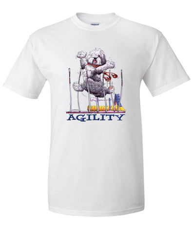 Old English Sheepdog - Agility Weave II - T-Shirt