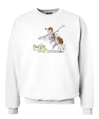 Borzoi - Dance Like Everyones Watching - Sweatshirt