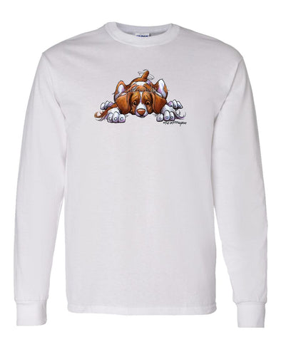 Brittany - Rug Dog - Long Sleeve T-Shirt