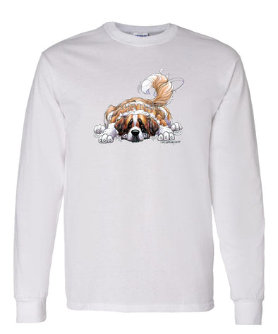 Saint Bernard - Rug Dog - Long Sleeve T-Shirt