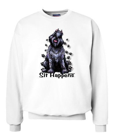 Bouvier Des Flandres - Sit Happens - Sweatshirt