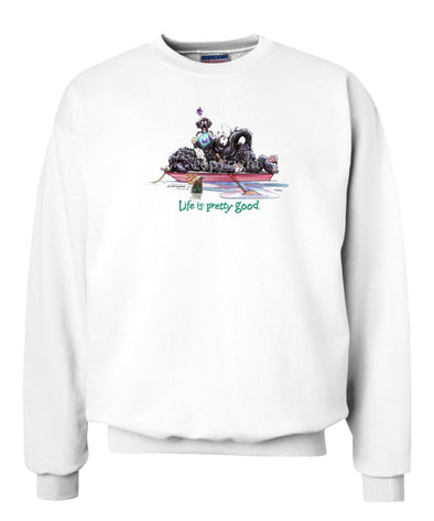 Portuguese Water Dog - Life Is Pretty Good - Sweatshirt