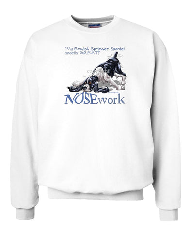 English Springer Spaniel - Nosework - Sweatshirt