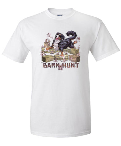 Bernese Mountain Dog - Barnhunt - T-Shirt