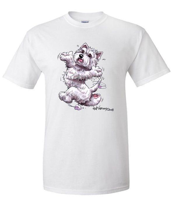 West Highland Terrier - Happy Dog - T-Shirt