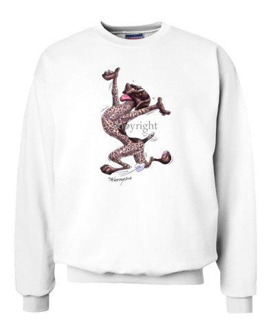 German Shorthaired Pointer - Happy Dog - Sweatshirt