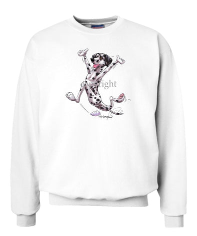 Dalmatian - Happy Dog - Sweatshirt