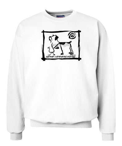 German Wirehaired Pointer - Cavern Canine - Sweatshirt