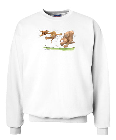 Italian Greyhound - Vintage - Caricature - Sweatshirt