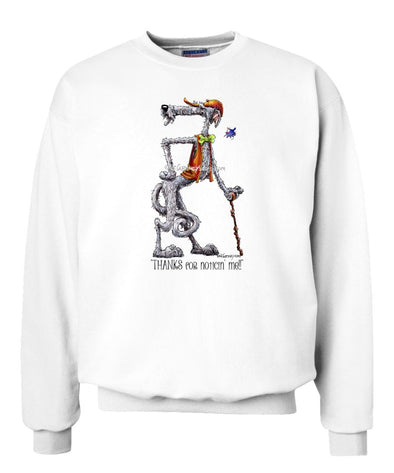 Scottish Deerhound - Noticing Me - Mike's Faves - Sweatshirt