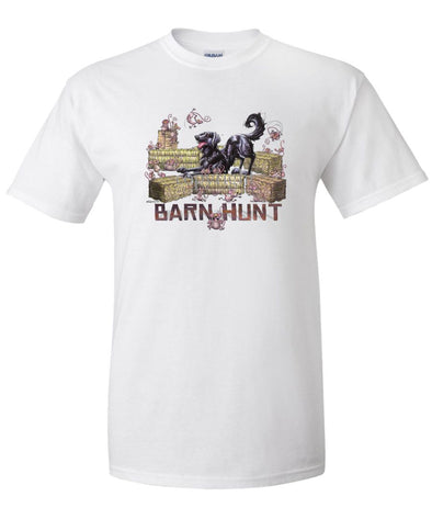 Flat Coated Retriever - Barnhunt - T-Shirt