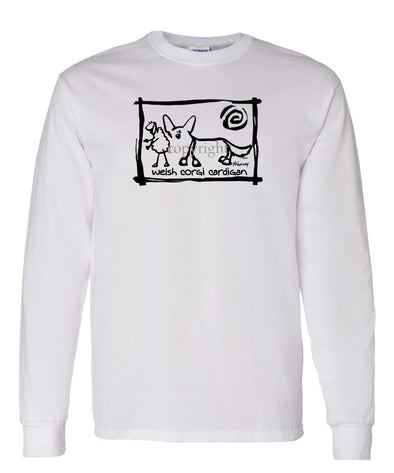 Welsh Corgi Cardigan - Cavern Canine - Long Sleeve T-Shirt
