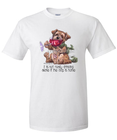Norfolk Terrier - It's Not Drinking Alone - T-Shirt