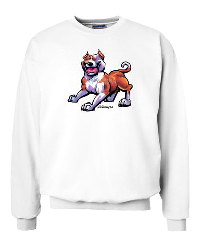 American Staffordshire Terrier - Cool Dog - Sweatshirt