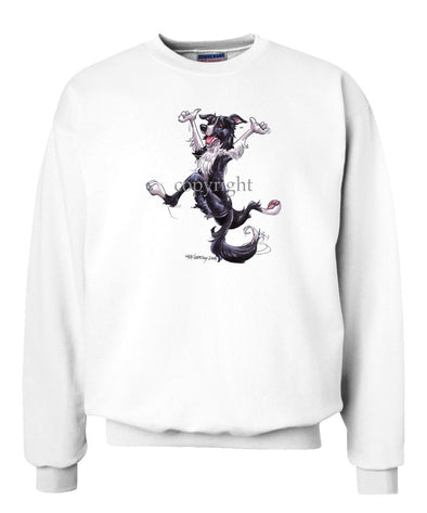 Border Collie - Happy Dog - Sweatshirt