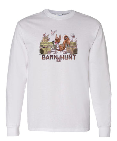 Basenji - Barnhunt - Long Sleeve T-Shirt