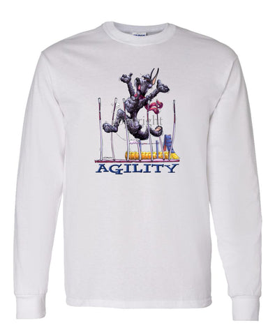 Giant Schnauzer - Agility Weave II - Long Sleeve T-Shirt