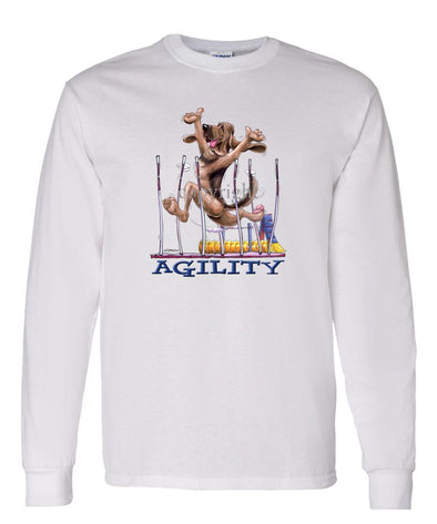 Bloodhound - Agility Weave II - Long Sleeve T-Shirt