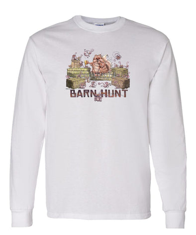 Pomeranian - Barnhunt - Long Sleeve T-Shirt
